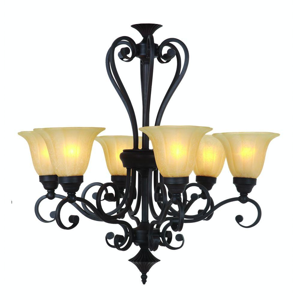 Yosemite home decor florence collection 6 light sierra for Home decor survivor 6