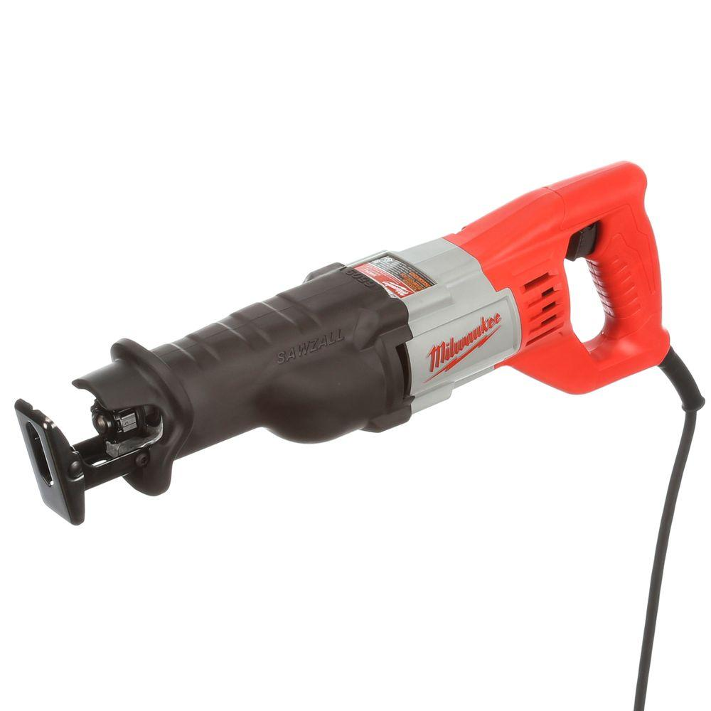 Milwaukee 12 Amp 3/4 in. Stroke Sawzall Reciprocating Saw with Case