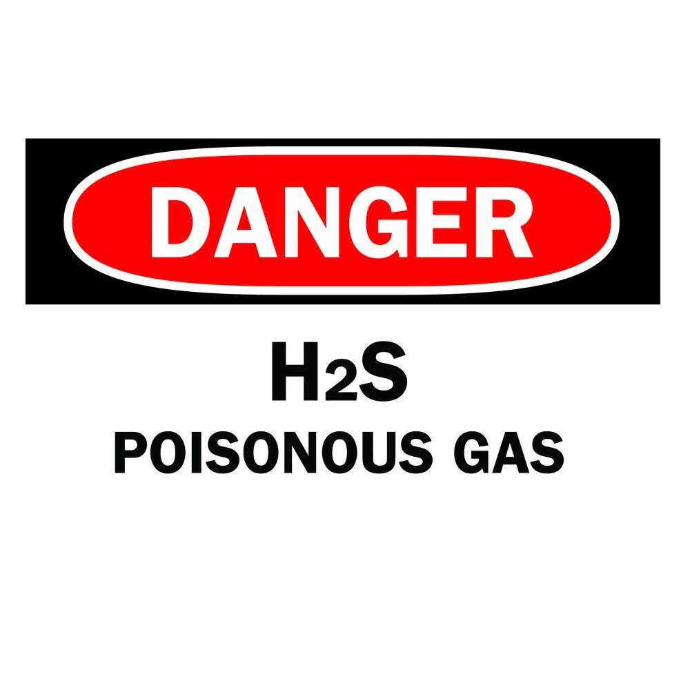10 in. x 14 in. Fiberglass Chemical and Hazardous Material Sign