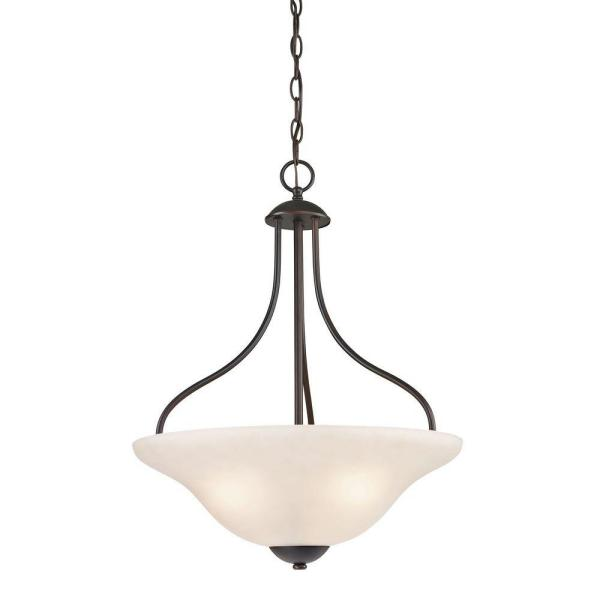 Conway 3-Light Oil-Rubbed Bronze Large Pendant