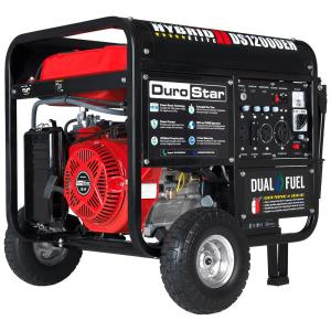 Duromax 12000/9500-Watt 18 HP Dual Fuel Powered Portable Hybrid