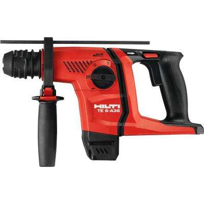 36-Volt Lithium-Ion Cordless SDS Plus Rotary Hammer Drill TE 6-A AVR Tool Body