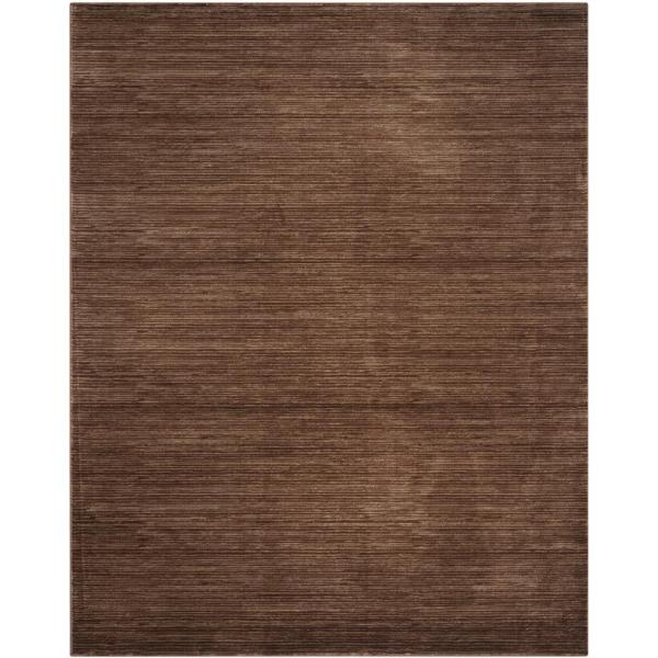 Vision Brown 8 ft. x 10 ft. Area Rug