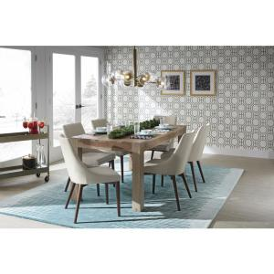 Home Decorators Collection Edmund Smoke Grey Dining Table ...