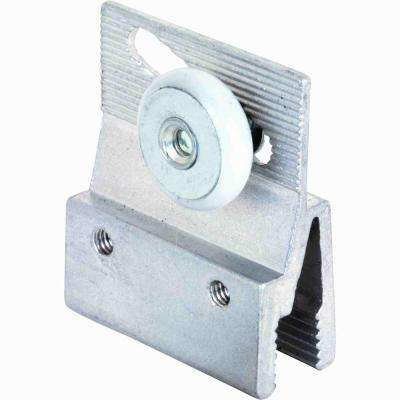 Sliding Frameless Shower Door Rollers and Brackets (2-Pack)