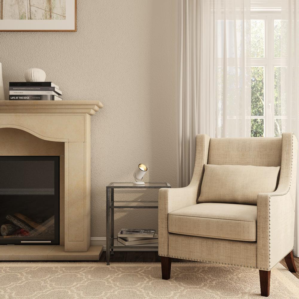 White Uplight Floor Lamp Indoor Accent Light Directional Lighting Fixture Decor Ebay