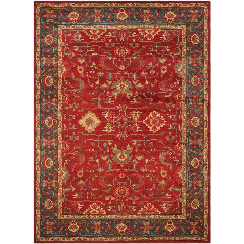 Safavieh Mahal Red Navy 8 Ft X 11 Ft Area Rug Mah693f 8
