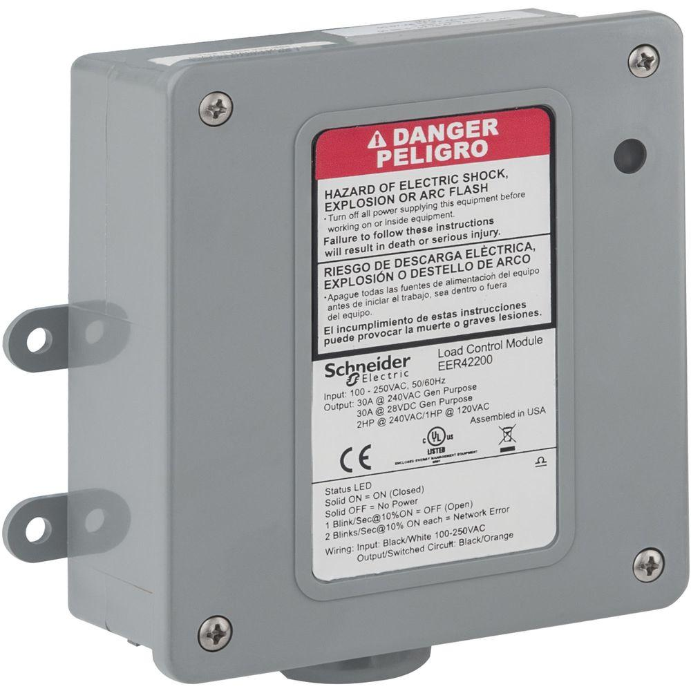 Schneider Electric 30 Amp Wiser Load Control Relay