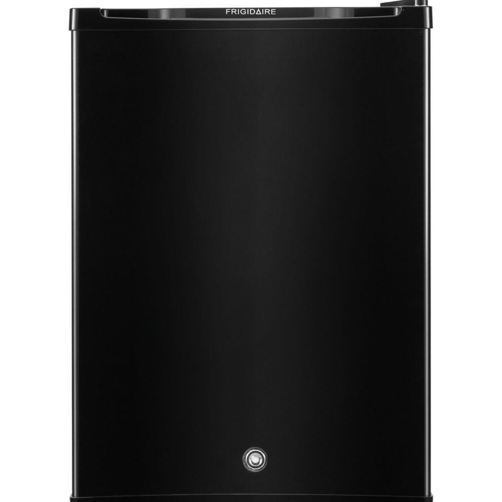 frigidaire 2 4 cu ft mini refrigerator with freezer in black