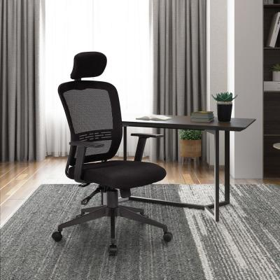 Black Ergonomic High Back Mesh Office Chair with Adjustable Armrest Desk Chair Computer Chair