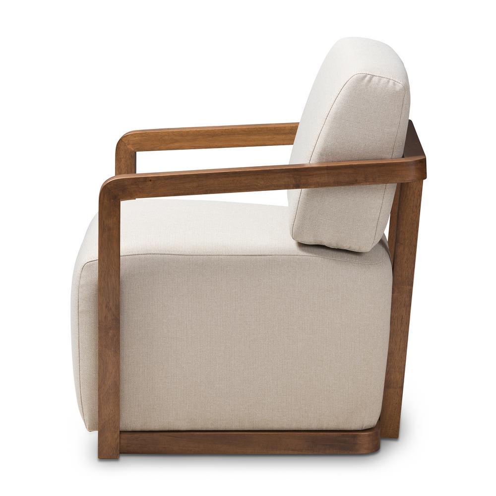 Superb Baxton Studio Sawyer Beige Fabric Arm Chair 28862 7845 Hd Uwap Interior Chair Design Uwaporg
