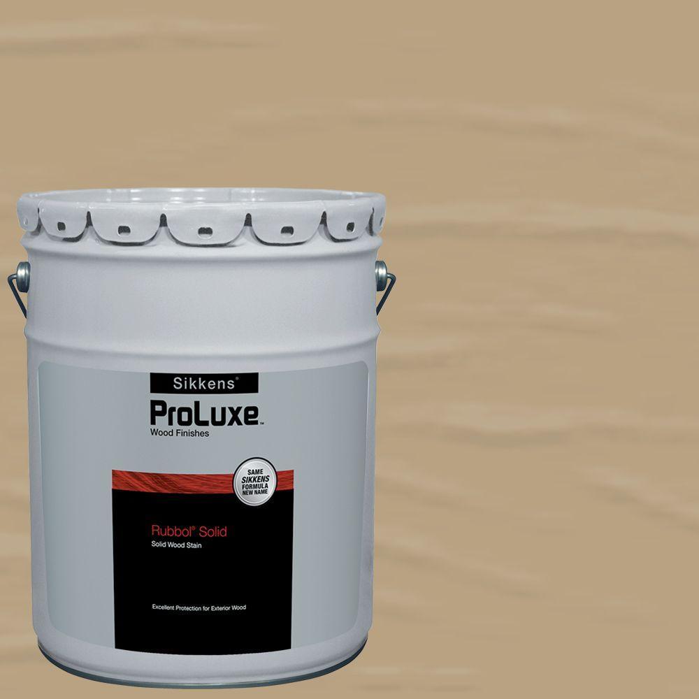 5 gal. #HDGSIK710-210 Sahara Sand Rubbol Solid Wood Stain
