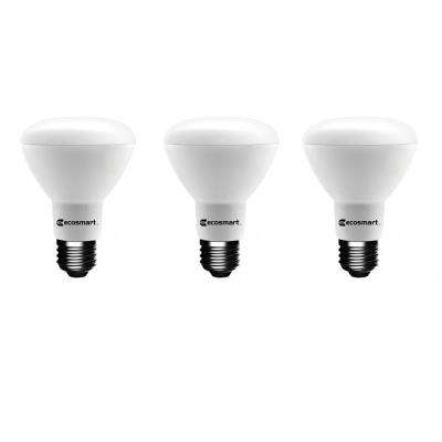 50-Watt Equivalent BR20 Dimmable LED Light Bulb, Daylight (3-Pack)