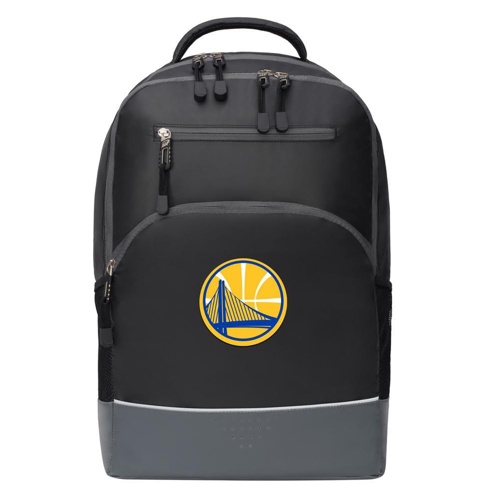 Warriors 19 in. Black Alliance Backpack