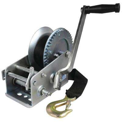 3,000 lbs. Manual Trailer Winch