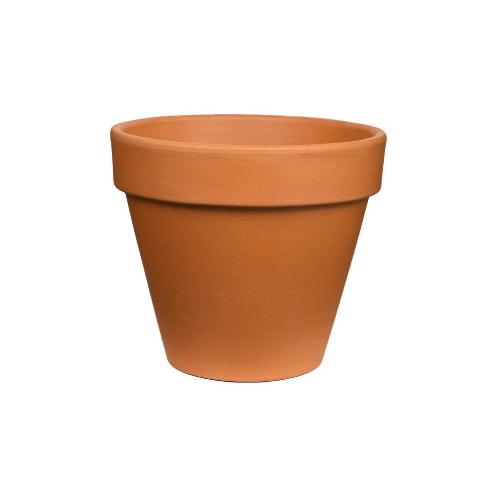 pennington 10 in. terra clay cotta pot-100528519 - the home depot