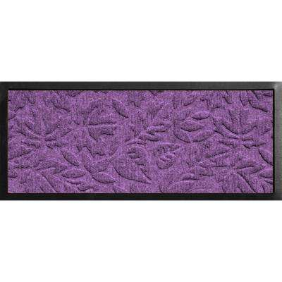 Aqua Shield Boot Tray Fall Day Purple 15 in. x 36 in. Door Mat