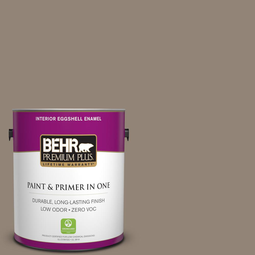 BEHR Premium Plus 1-gal. #N220-5 Ottertail Eggshell Enamel Interior Paint