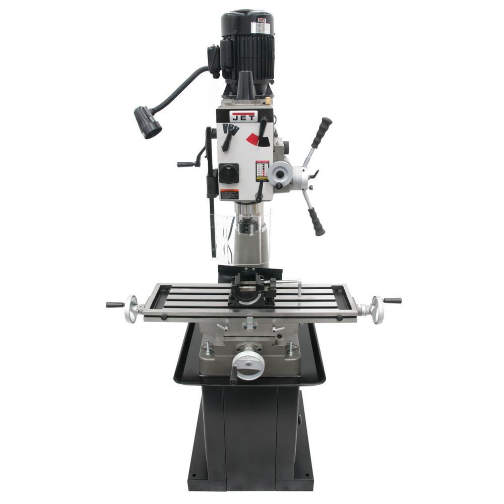 JMD-40GHPF 115-Volt/230-Volt Geared Head Mill/Drill Press