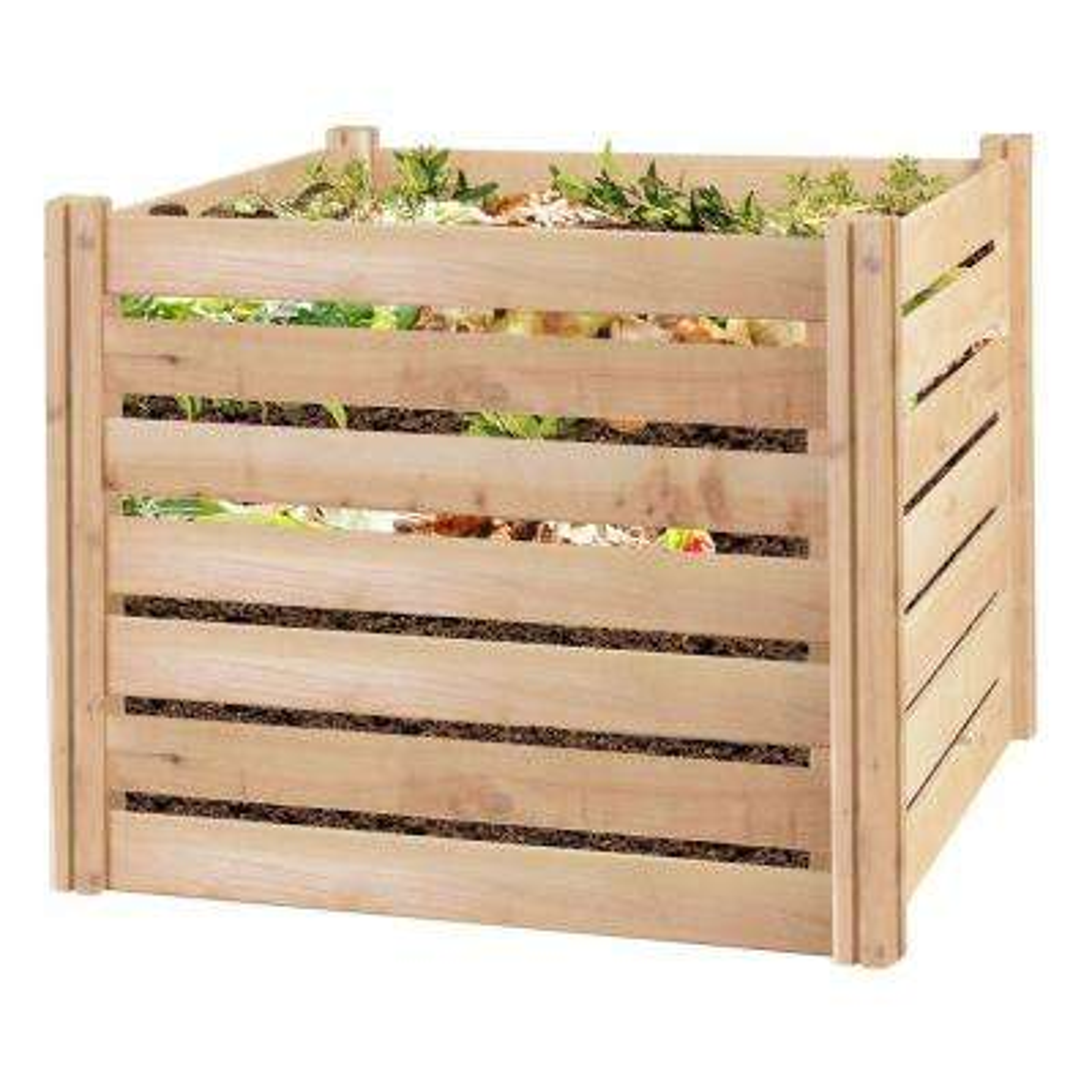 Greenes 173.92 Gal. Cedar Wood Composter