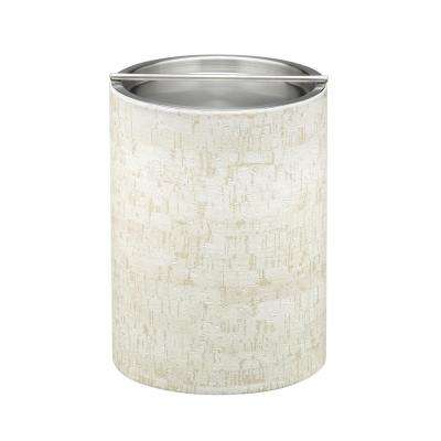 Stucco Cork Tall 2 Qt. Ice Bucket with Stainless Bar Lid