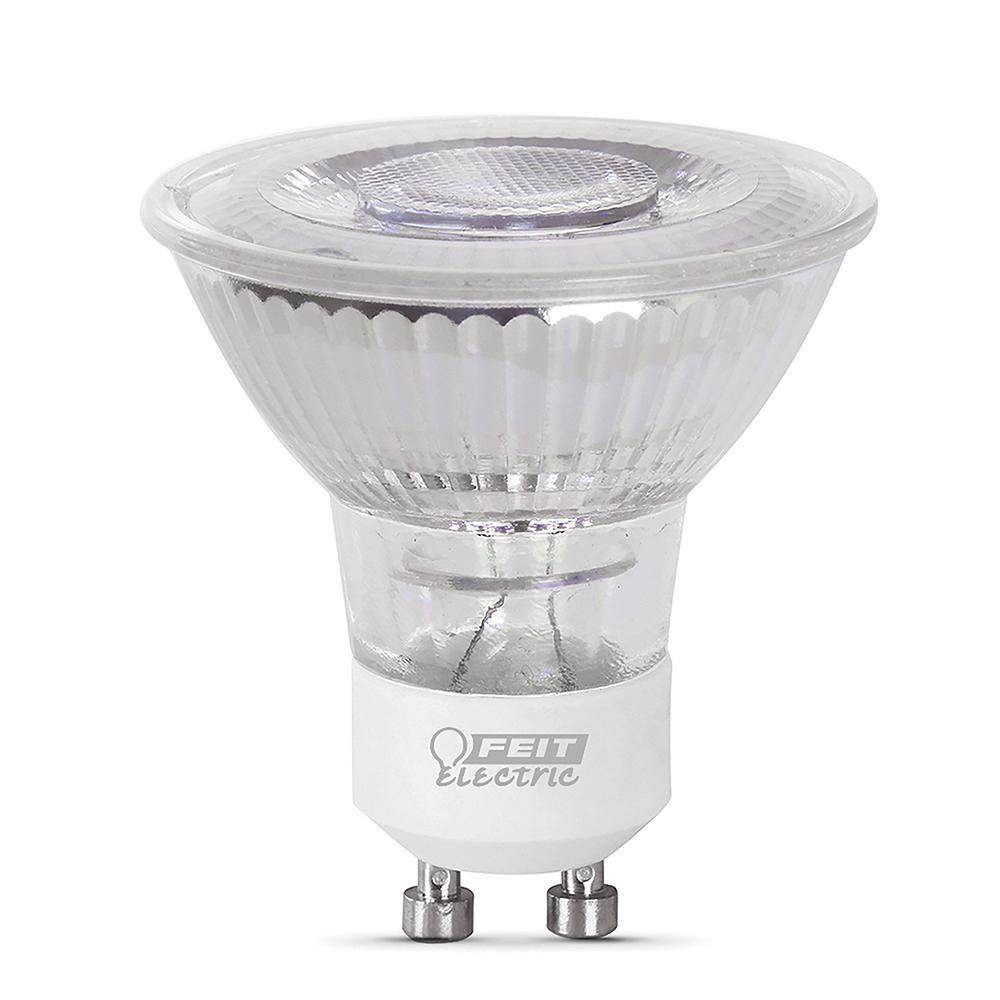 50-Watt Equivalent MR16 GU10 Dimmable CEC LED 90+ CRI Flood Light Bulb Daylight (6-Pack)