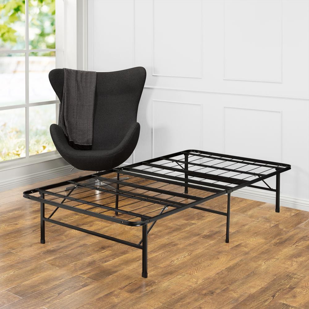 Zinus Smartbase Twin Metal Bed Frame Hd Sbbk 14t Fr The
