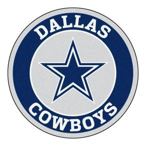 NFL Dallas Cowboys Navy 2 Ft. 3 In. X 2 Ft. 3 In