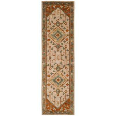 Heritage Light Blue Rust 2 Ft 3 In X 6 Runner