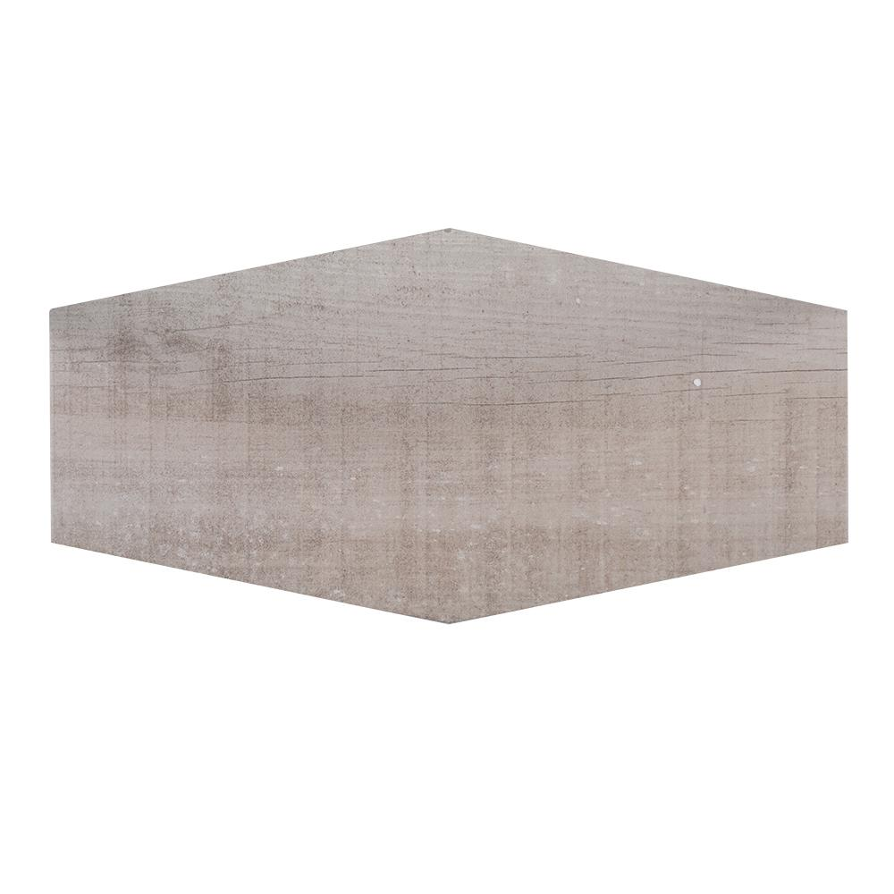 jeffrey court oakwood lily 912 in x in x 85 mm porcelain hexagon floor and wall tile sq ft case99478 the home depot