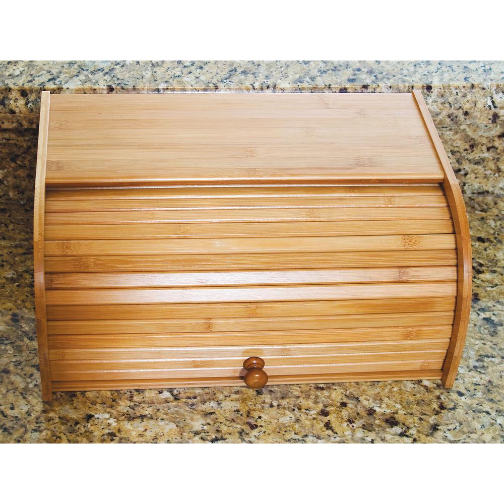 Bamboo Rolltop Bread Box