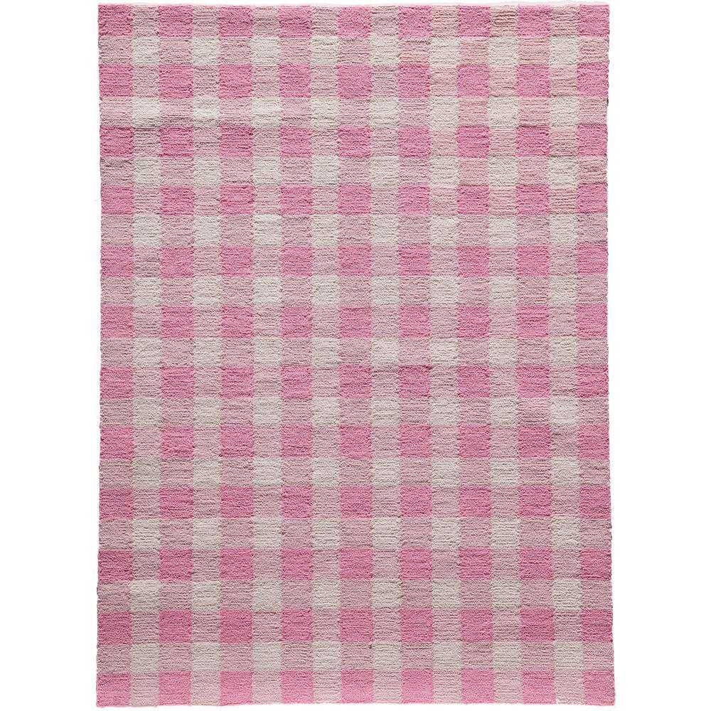 Geo Pink 8 Ft X 10 Indoor Area Rug