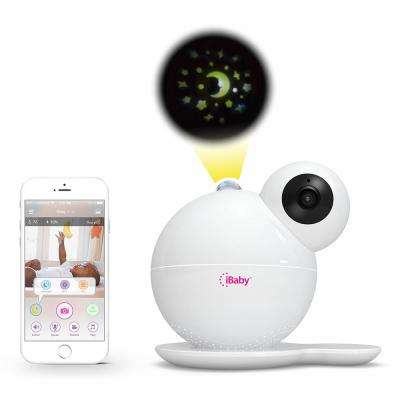 Care M7 Smart 1080p Full HD Wi-Fi Digital Video Baby Monitor with 360-Degree Rotation Moonlight Soother Smart Sensors
