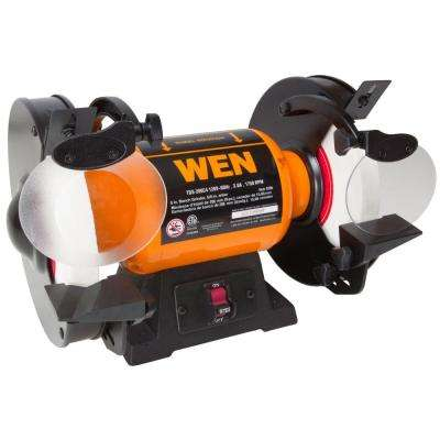 120-Volt 8 in. Slow Speed Bench Grinder