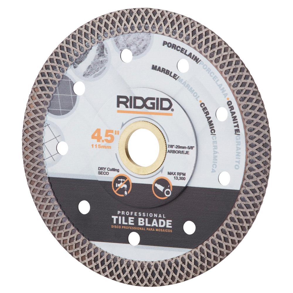 4.5 in. Continuous Rim Blade with Mesh Rim