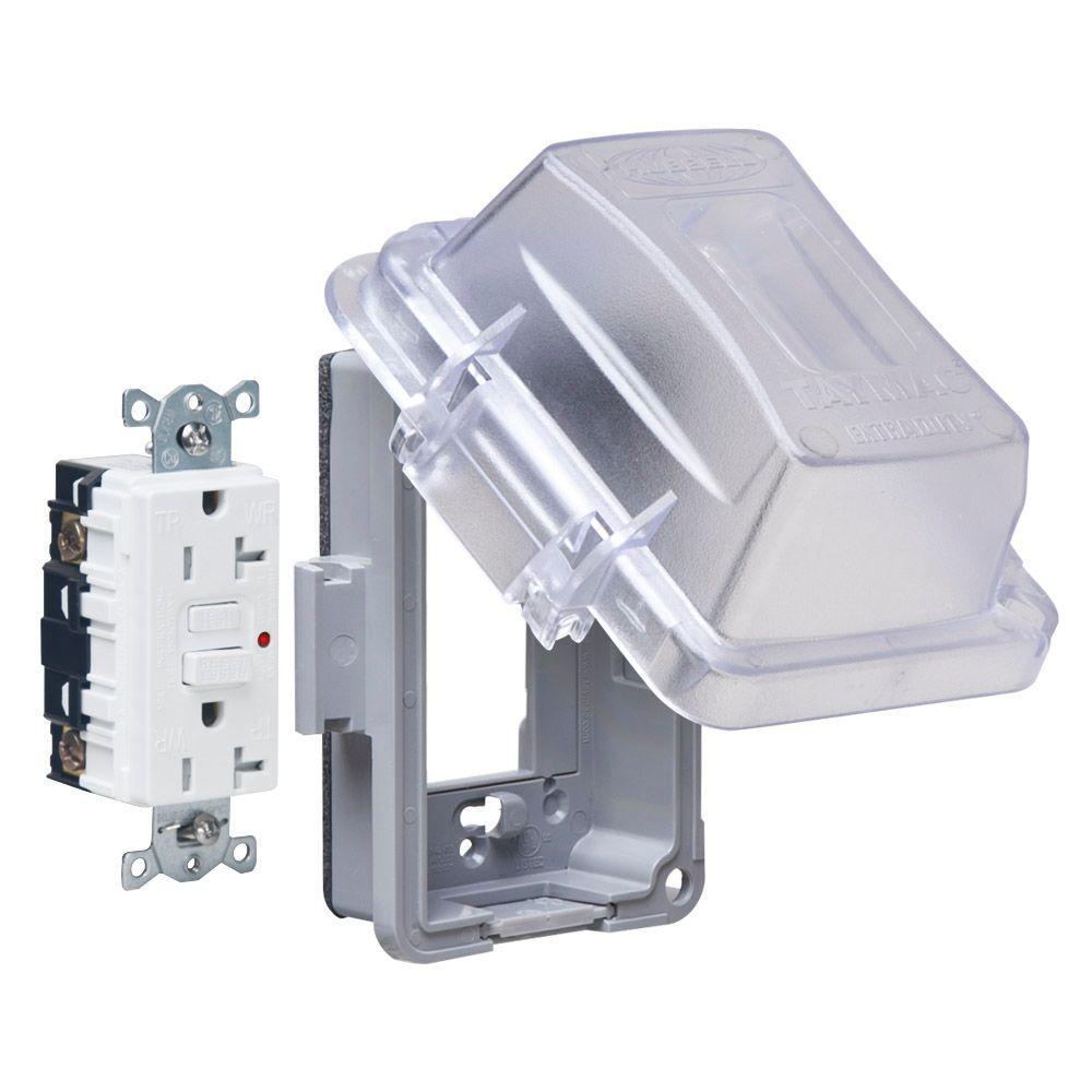 Electrical Weatherproof Lock Box: TAYMAC 1-Gang Horizontal Or Vertical Mount Weatherproof