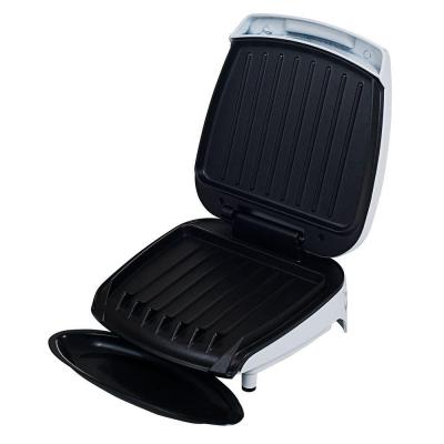 White Electric Non-Stick Grill for Low Fat Diet