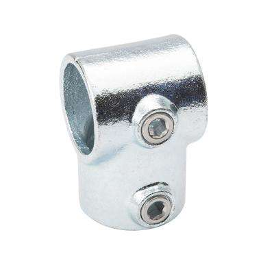1-1/4 in. Galvanized Structural Steel Single Socket Tee (2-Pack)