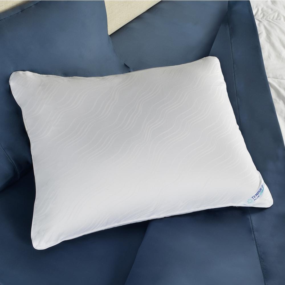 tempur pedic breeze 1 0 foam queen bed pillow 15435121. Black Bedroom Furniture Sets. Home Design Ideas