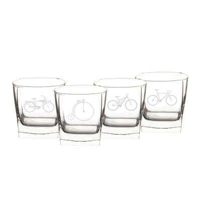 Bicycle 10.5 oz. Cocktail Glasses