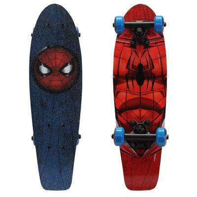 21 in. Ultimate Spider-Man Spidey Eyes Kids Complete Skateboard