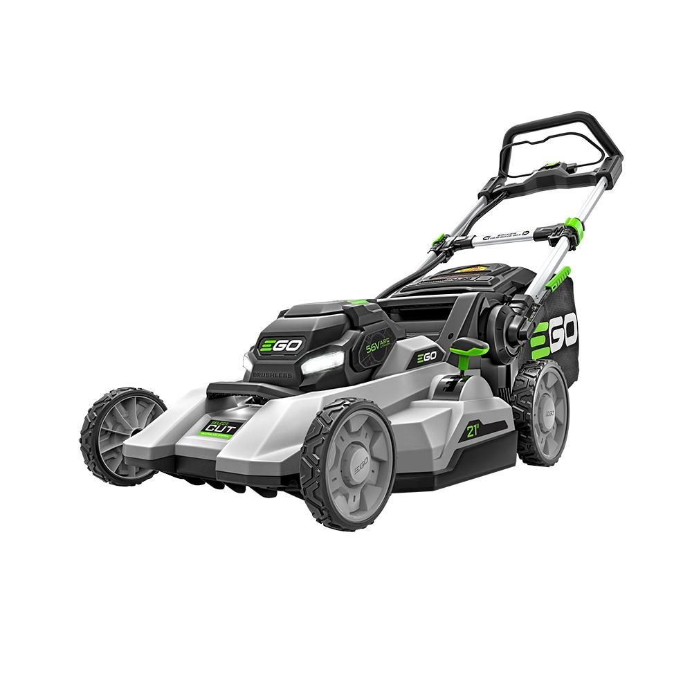 EGO 21 in. Select Cut 56V Lithium-Ion Cordless Electric Walk Behind Push Mower, 5.0 Ah Battery and Charger Included
