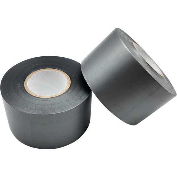 2 in. x 33 yd. Utility Grade Tape Silver (4-Pack)