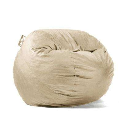Medium FUF Shredded Ahhsome Foam Oat Lenox Bean Bag