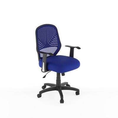Workspace Blue Mesh Office Chair