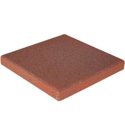 16 in. x 16 in. x 1.77 in. River Red Square Concrete Step Stone (84-Pieces/149 sq. ft./Pallet)