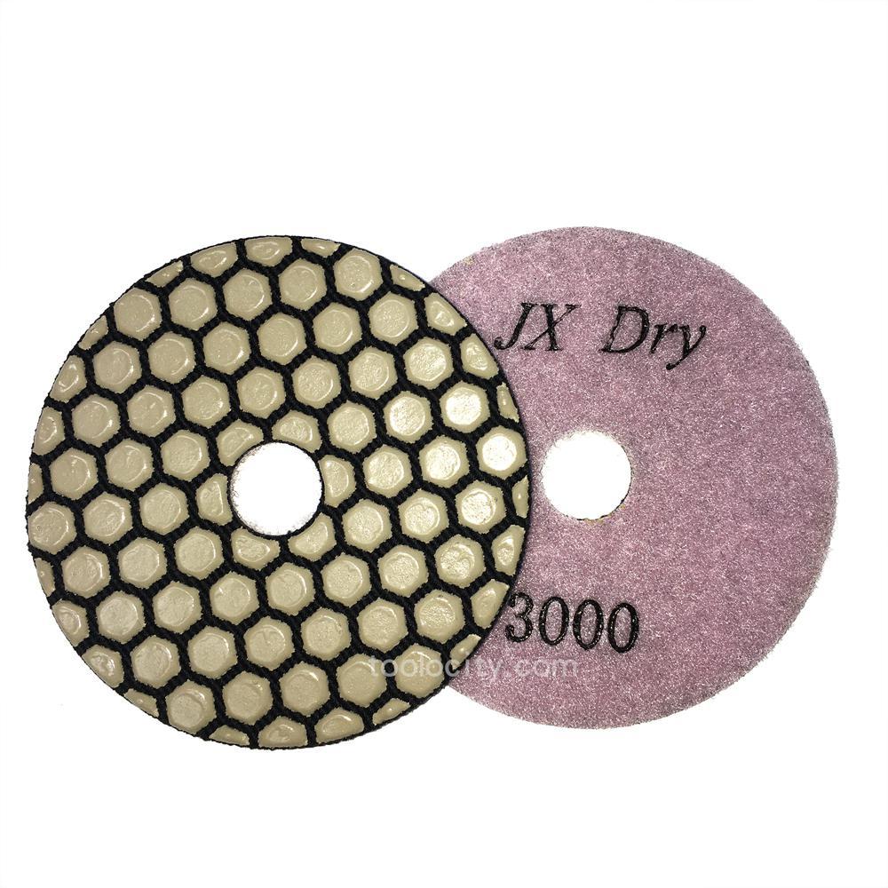 NED NSWPP041500 4 x 5//8 Standard Wet Polishing Pad 1500 Grit