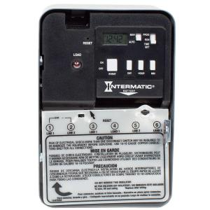 Intermatic 30 Amp 7-Day SPST 1-Circuit Astronomic Time ... on