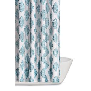 Truly Soft Annika 72 inch Teal Shower Curtain by Truly Soft