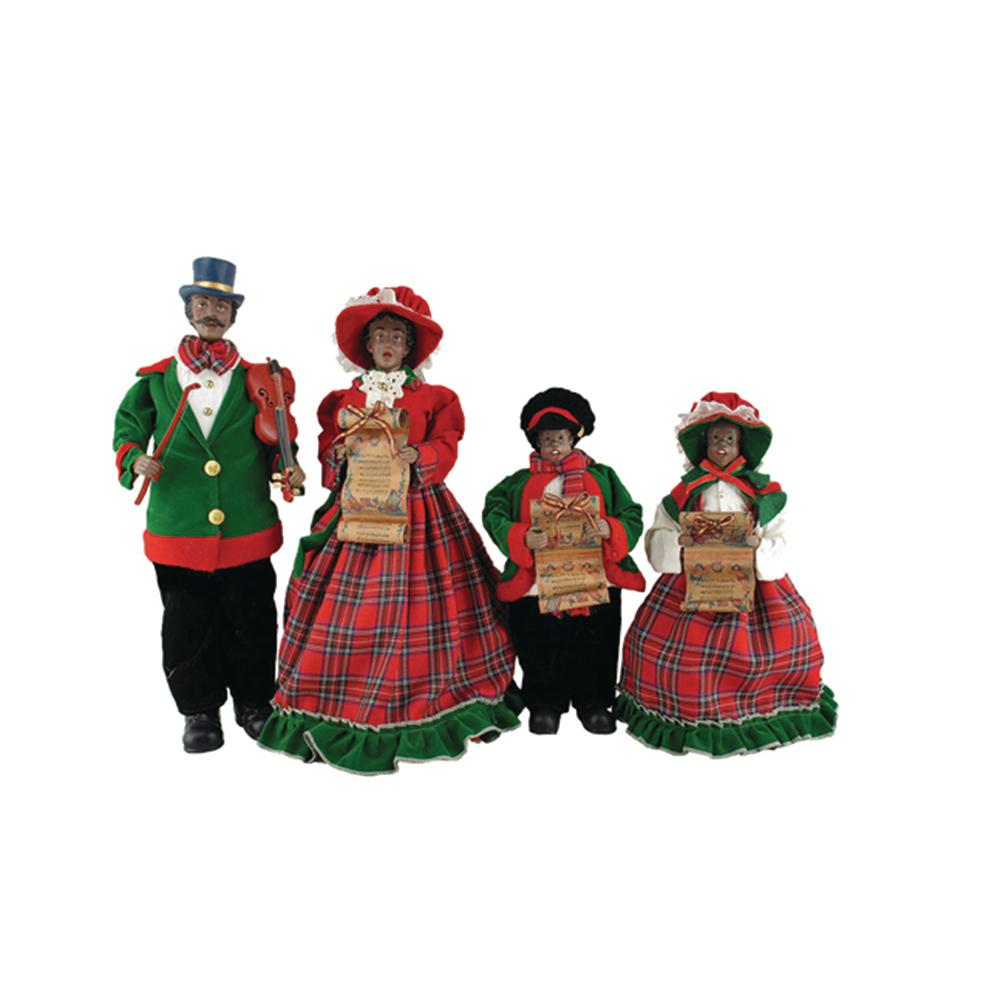 Victorian Christmas Carolers Figurines: Christmas Decorations Carolers Set
